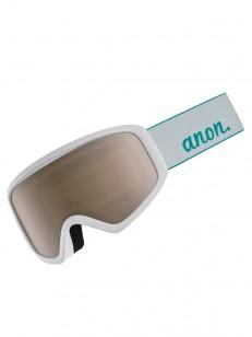 ANON okuliare INSIGHT W/SPARE WHITE/SILVER AMBER