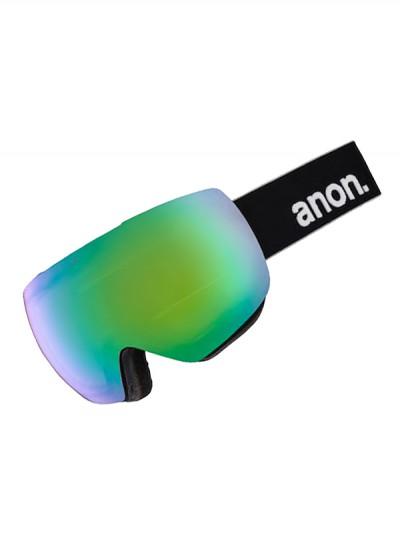ANON brýle MIG MFI BLACK/SONARGREEN