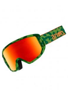 ANON brýle RELAPSE JR MFI GREEN SKULL/REDAMBER