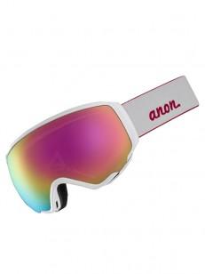 ANON brýle WM1 W/SPR PEARL WHITE/SONARPNK