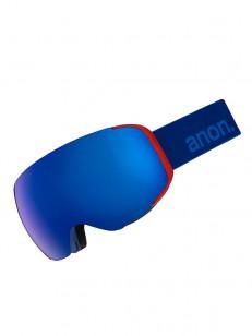 ANON brýle M2 MFI W/SPR BLUE/SONARIRBLUE