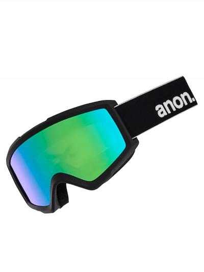 ANON brýle HELIX 2 SONAR W/SPR BLACK/SONARGREEN