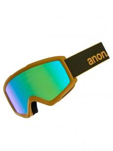 BURTON brýle HELIX 2 SONAR W/SPR GREEN/SONARGREEN