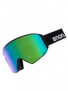 ANON okuliare M4 CYLINDRICAL BLACK/SONARGREEN
