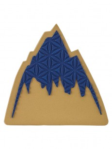 BURTON grip FOAM MATS MOUNTAIN LOGO
