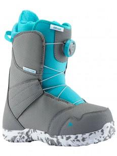 BURTON topánky ZIPLINE BOA GRAY/SURF BLUE