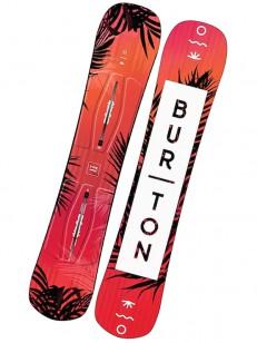 BURTON snowboard HIDEAWAY RED/PIN