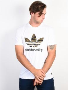 ADIDAS tričko CMO 3.0 T WHITE/CAMPRI/CORANG