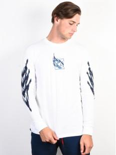 ADIDAS tričko TNNS LS T WHITE/REATEA/TRIPUR