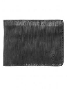 NIXON peněženka ARC SE BI-FOLD BLACKBLACK