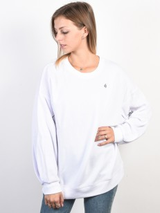 VOLCOM mikina DARTING TRAFFIC White