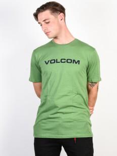 VOLCOM tričko CRISP EURO Dark Kelly