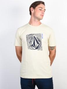 VOLCOM tričko STONAR WAVES DD Clay