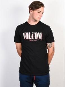 VOLCOM triko LIFER DD Black
