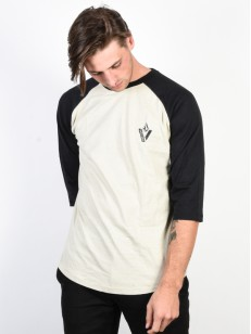 VOLCOM tričko CUTOUT Black