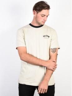 VOLCOM tričko SAFE BET RNG Clay