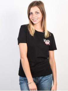 VOLCOM tričko SKULLACTIC WAVE Black