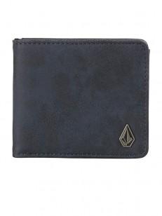 VOLCOM peněženka SLIM STONE PU Midnight Blue