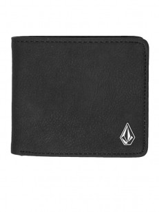 VOLCOM peněženka SLIM STONE Black