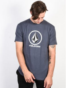 VOLCOM tričko CRISP STONE Midnight Blue