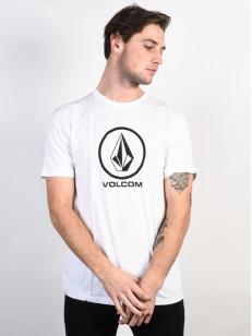 VOLCOM triko CRISP STONE White