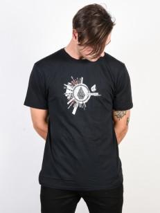 VOLCOM tričko RADIATE Black