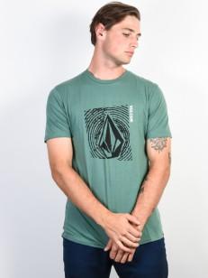 VOLCOM triko STONAR WAVES DD Pine