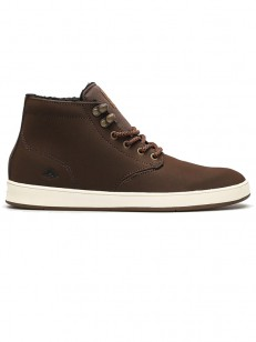 EMERICA boty ROMERO LACED HIGH BROWN