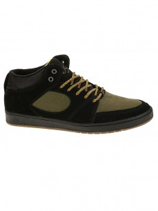 ÉS boty ACCEL SLIM MID BLACK/BROWN