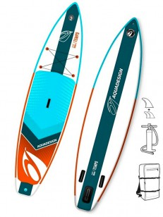 AQUADESIGN paddleboard TEMPO Blue/White