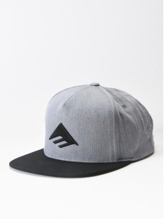 EMERICA kšiltovka TRIANGLE GREY/BLACK