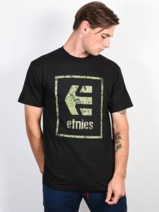 ETNIES tričko BLOODLINE ICON BLACK