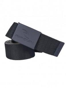 RIP CURL pásek RAD REVO WEBBED Black/Grey