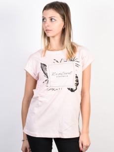 RIP CURL tričko PALM BEACH Pink