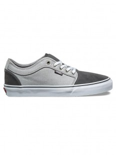VANS boty CHUKKA LOW (Suiting) pewter/frost gray
