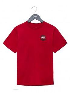 VANS tričko COMPLETE LOC CARDINAL