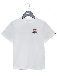 VANS tričko COMPLETE LOC WHITE