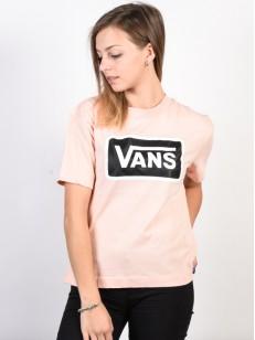 VANS triko BOOM BOOM BOXY ROSE CLOUD