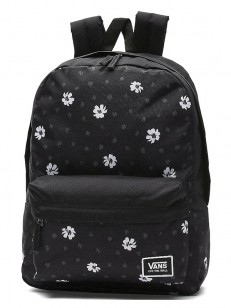 VANS batoh REALM CLASSIC BLACK ABSTRACT