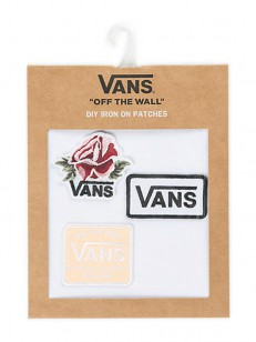 VANS nášivka PATCH PACK OVERTIME ROSE