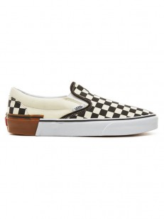 VANS boty CLASSIC SLIP-ON (GUM BLOCK) CHECKERBOARD