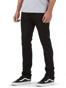 VANS kalhoty V76 SKINNY BLACK-WHITE