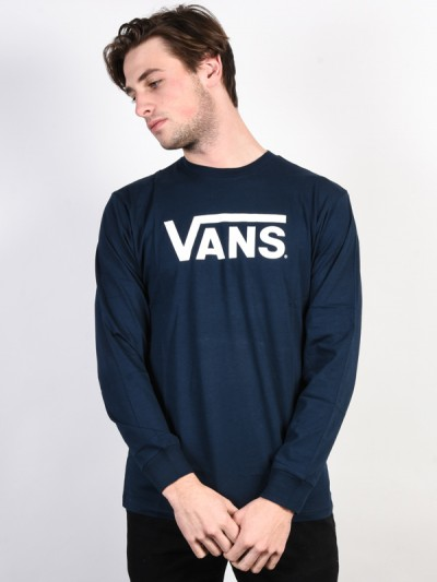 VANS tričko CLASSIC NAVY-WHITE   TempleStore.sk 01ce15f5e4d