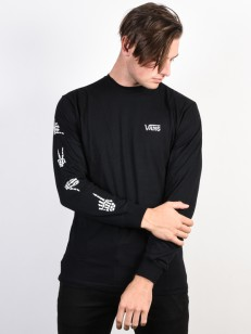 VANS tričko BONEYARD BLACK