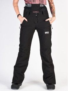 PICTURE kalhoty TREVA BLACK