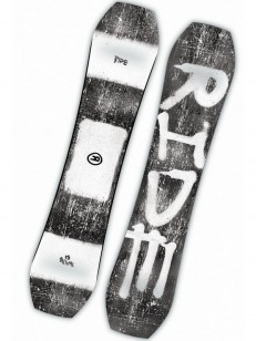 RIDE snowboard TWINPIG GRY/WHT