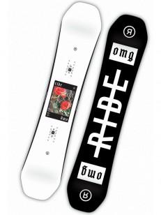 RIDE snowboard OMG BLK/WHT