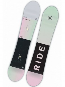 RIDE snowboard COMPACT PIN/GRN