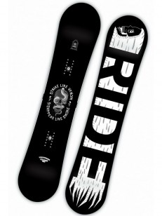 RIDE snowboard MACHETE JR BLK/WHT