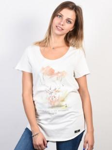 PICTURE triko WILD WHITE